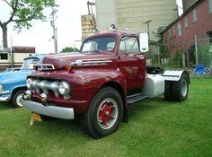 Semitrckn : Photo 1951 Ford Truck, Ford Tractors, Ford Pickup Trucks, Gm Trucks, Pick Up, Train Truck, Ford Torino, Ford F Series, Vintage Trucks