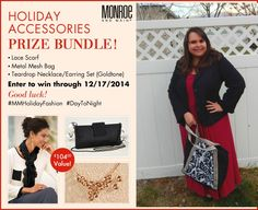 Monroe and Main Holiday Event + $104 Prize Package Giveaway #MMHolidayFashion