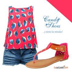 Ideal para tus vacaciones  www.tucalzado.com #Sandalias #Calzados #Zapatos #Verano