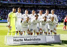 Equipos de fútbol: REAL MADRID contra Alavés 02/04/2017