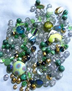 Beads Bead lots Miscellaneous Beads Glass by RosariesbyEsther