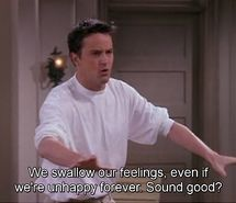 Inspiring picture chandler bing, friends, quotes, tv series. Resolution: 500x282. Find the picture to your taste!