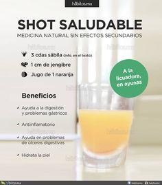 Hábitos Health Coaching |   SHOT SALUDABLE de sábila