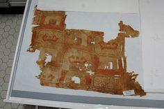 Chavin style fragment, Peru. Textile Museum.