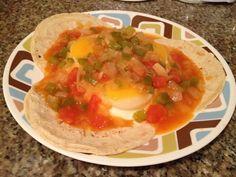 receta de huevos rancheros | HUEVOS RANCHEROS