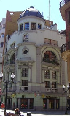 Teatro Robledo, Guijón. Asturias (1915) Manuel del Busto