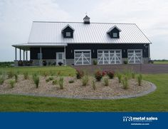 Brick House Metal Roof Dream House In 2018 Pinterest