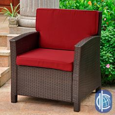 Add a touch of contemporary style and comfort to your outdoor furnishings with the Lisbon Outdoor Chair, featuring a sturdy steel frame, stylish resin wicker weave, and a choice of four complimentary cushion/wicker color variations.