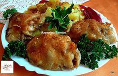 Fólia alatt sült fűszeres csirkecomb Recept képpel - Mindmegette.hu - Receptek Pork, Lunch, Chicken, Cooking, Recipes, Drink, Kochen, Kale Stir Fry, Soda