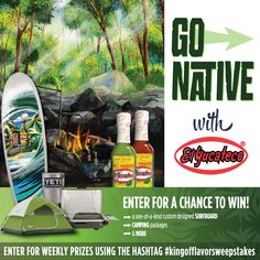Visit www.WinningWithElYucateco.com for a chance to win some awesome prizes!…