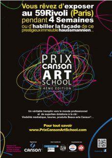 Concours Prix Canson Art School