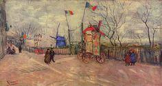 Le assegnazioni a Montmartre Parigi di Vincent Van Gogh