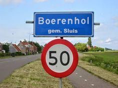 Gekke Nederlandse plaatsnamen.