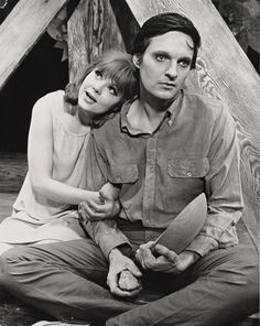 """Barbara Harris and Alan Alda in """"The Apple Tree"""" by Jerry Bock and Sheldon Harnick, Theatre Plays, Broadway Theatre, Musical Theatre, Movie Theater, Alan Alda, Apple Tree, Classic Movies, Behind The Scenes, Musicals"""