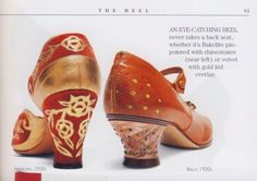 TheHistorialist: SERENDIPITY | OOPS! | WE HAVE FOUND ANOTHER ANDRE PERUGIA SHOE |
