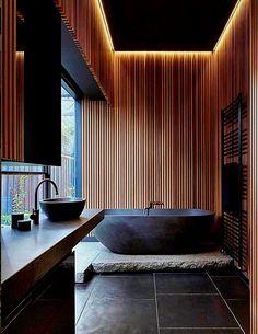 Pretty Dream Bathroom Design Ideas For Your - Aksa. All White Bathroom, Small Bathroom, Modern Bathroom, Bathroom Ideas, Bad Inspiration, Bathroom Inspiration, Japan Bathroom, House Architecture Styles, Interior Architecture