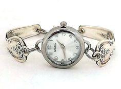 Silver Spoon Watch Spoon Watch Bracelet Magnolia by DzinesLaura