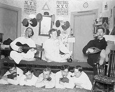 NYU frat boys, 1897