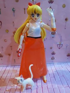 A dress for Sailor Venus from a Myer bag Sailor Venus, Sailor Moon, Tinkerbell, Disney Characters, Fictional Characters, Disney Princess, Dress, Bags, Handbags