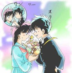 Aoko and Kaito