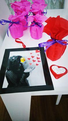 anneler için çikolata ve kalpler,resim pvc ile kaplı