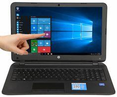 HP 15.6 Touch Screen 4GB 500GB Intel Pentium Quad-Core 2.58GHz Win 10 DVDRW