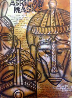 African Art project Harrop Fold School