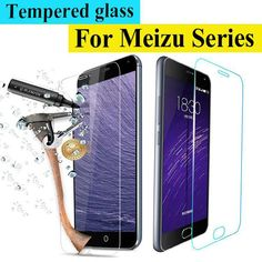 0.3mm 9HScreen Protector Film 2.5D Front Premium Tempered Glass For Meizu M2 mini MX5 MX4 MX3 MX2 Pro 5 M2 Note M1 Notecase