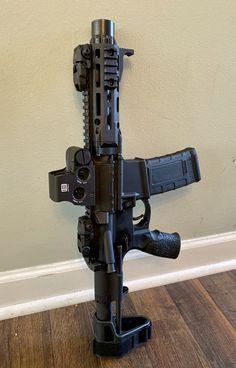 Ar Pistol Build, Ar15 Pistol, Ar Build, Airsoft Guns, Weapons Guns, Guns And Ammo, 300 Blackout Pistol, Rifles, Custom Guns