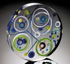 Contact Kenn Holsten at online gallery Holsten Galleries for prices of available glass sculpture by glass artist Steven Weinberg. Glass Ceramic, Mosaic Glass, Fused Glass, Stained Glass, Glass Art, Blown Glass, Murano Glass, Steven Weinberg, Vases