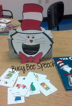 It's Dr. Seuss week at my school! Love me some Cat in the Hat and One Fish Two Fish! Sharing these silly rhymes, crazy words, and funny pi...
