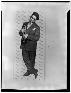 William Gottlieb's Iconic Photos of Jazz Greats, 1938-1948 | Brain Pickings Dizzy Gillespie,NY, NY, ca. May 1947