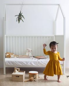 There's no place like Stokke Home   Learn more about our house-shaped crib that transforms into a bed. : @catslavery