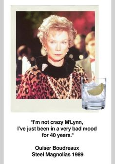 She was one crazy lady