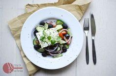 Dzisiaj kontynuujemy nasz poświąteczny detox i na obiad jemy pyszną sałatkę grecką :-)