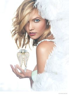 Karlie Kloss Sports Wings & Blonde Hair for New Victorias Secret Photos