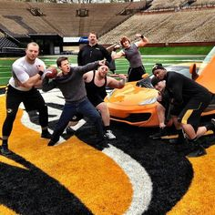 Top Gear USA. Wouldn't mind tackling Tanner! <3  Are you serious?  Arrowhead...