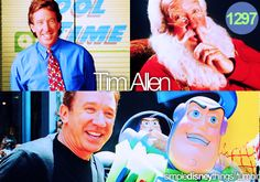 Tim Allen has been with Disney for years as Santa Clause, a Tool Man, and a Space Ranger. And in the future, a possible skipper with Tom Hanks in the new Jungle Cruise Movie.