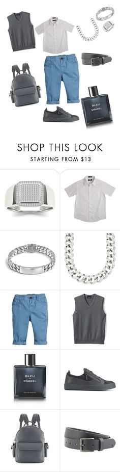"""Untitled #371"" by sugeilym ❤ liked on Polyvore featuring French Toast, John Hardy, Stephen Oliver, Lands' End, Chanel, Giuseppe Zanotti, BUSCEMI, Peter Werth, men's fashion and menswear"