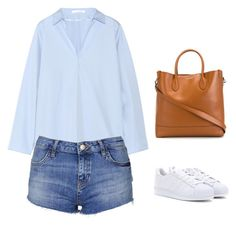 """""""June 27"""" by fancywan on Polyvore featuring Acne Studios, Topshop, adidas and Ralph Lauren"""