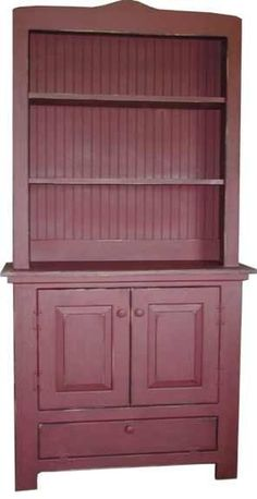 Primitive Farm House Hutch