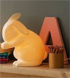I adore this lamp that Aus has