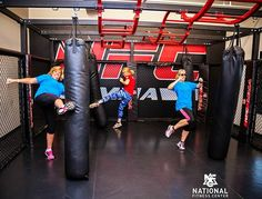 Come get a kick out of our MMA room at the National Fitness Center Signature Club in West Knoxville! #teamNFC