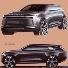 Learn how to draw a car using our step by step tutorials. Sports cars, classic cars, imaginary cars - we will show you how to draw them like the pros. Car Design Sketch, Car Sketch, Design Cars, Design Design, Land Rover Discovery, Automobile, Futuristic Cars, Car Drawings, Transportation Design