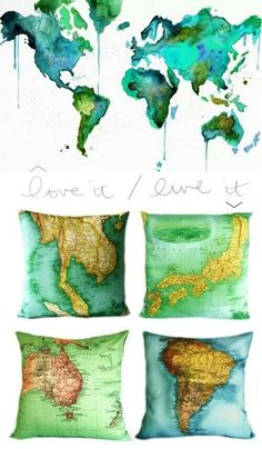 I love it all! A top contender for my map above the bed.