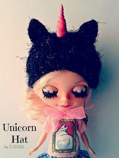 Unicorn hat Handmade by me  http://odolls.blogspot.com.es/