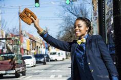 Taxi! Where are you going this weekend? Wherever you go, take #FAMEousJ with you. A #handmade #crochet #bowtie and #clutchbag are perfect accessories. Get your #customized items from the #etsy shop at www.FAMEousJ.etsy.com!   Photography : @fromashtoart  Model : @squared_polkadots   #crocheted #crochetbowtie #crochetbowties #crochetbag #crochetclutch #bowties #bowtieswag #customcrochet #womeninbowties #supportsmallbusiness #crocheter #crochetlove