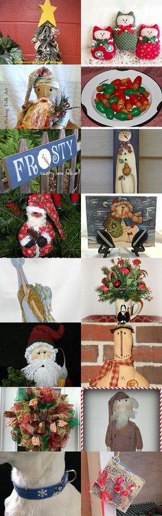 Christmas In July with TeamHAHA by Deena on Etsy--Pinned with TreasuryPin.com