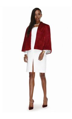 EDEN DIODATI – FALL WINTER 2015 – PREORDER HERE: http://www.precouture.com/en/6608-edo-burgundy-red-cape-makeba-cut-out-dress PRECOUTURE.COM is the first European website offering the possibility to preorder the looks straight from the runway. Order your looks now and wear them before anyone else, before it hits stores !