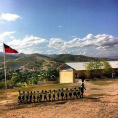 Respire school in Haiti.